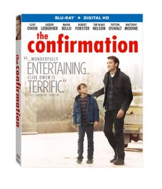 An all-star cast headlines the touching drama, The Confirmation, coming soon to Lionsgate Blu-Ray, DVD, and Digital HD. Clive Owen stars as Walt, an out-of luck carpenter who suddenly finds himself caring for his estranged son Anthony (Jaeden Lieberher) for a weekend while his ex-wife (Maria