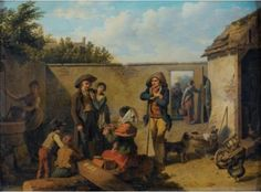 Martin Drolling (1752-1817): Fortune teller