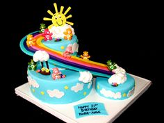 """6""""/10"""" and 6"""". rainbow supported with corrugated cardboard. toy care..."""