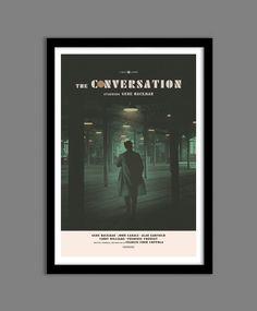 The Conversation alternative movie poster by TheArtOfAdamJuresko
