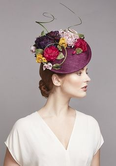 Royal Milliner Rachel Trevor-Morgan offers a couture bespoke service for occasion hats and headdress. Millinery Hats, Fascinator Hats, Fascinators, Headpieces, Fancy Hats, Cool Hats, Rachel Trevor Morgan, Occasion Hats, Stylish Hats