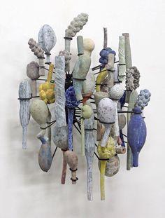 Agriculture inspired artworks by David Hicks Contemporary Sculpture, Contemporary Ceramics, Contemporary Art, David Hicks, Image 3d, 3d Studio, Paperclay, Expo, Ceramic Artists