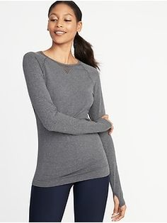 d184c91dd7b25 Seamless Performance Top for Women Shop Old Navy