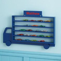 Die-Cast Cars Display Rack $49.99