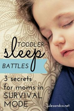Toddler sleep issues