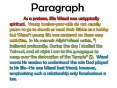 Custom paragraph writing