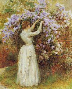 About Art - Talent works, genius creates... : Arthur Hopkins (British, 1848-1930)