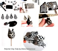 Free Polymer Clay Tutorials | Polymer Clay Tulip Tutorial , originally uploaded by _shimshoni .