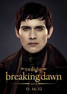 "Christian Carnago is ""Eleazar Denali' in 'The Twilight Saga: Breaking Dawn – Part 2' http://numet.ro/bd2"