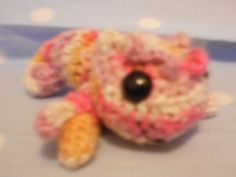 Handmade Karma Chameleon, various colours and accessories. A basic one like this is £15 Feb 2014. www.jellypoppy.co.uk