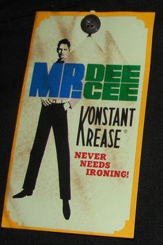 1960s Vintage Mens Pants