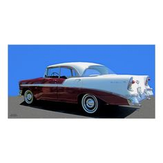 56 CHEVY BEL AIR POSTER