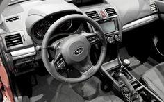 2012 Subaru VX (interior)