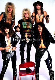 80s Hair Metal, Hair Metal Bands, 80s Hair Bands, Rock & Pop, Rock And Roll, Glam Metal, Hot Band, Glam Hair, 90s Hairstyles