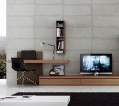 modular, escritorio lcd, led moderno progetto mobili nuevo