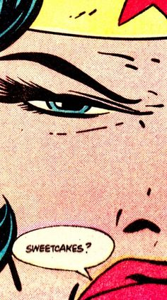 thecomicsvault:  COMIC BOOK CLOSE UP W O N D E R W O M A NAction Comics #565 (March 1985)Art by Keith Giffen (pencils), Bob Oksner (inks) & Anthony Tollin (colors)
