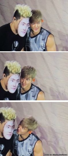 Derp contest: Siwon vs Siwon, may the best Siwon win! XD