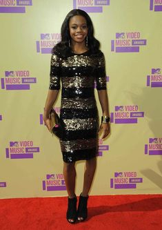 Gabby Douglas or Viola Davis?  Gabby may have won Olympic gold and our hearts but this red carpet look was all wrong.