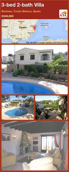 3-bed 2-bath Villa in Benissa, Costa Blanca, Spain ►€349,000 #PropertyForSaleInSpain