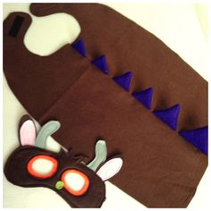 Gruffalo Costume Gruffalo Birthday Gruffalo by RobinsBobbinsCrafts