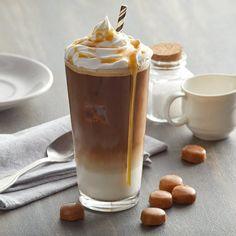 Cappuccino & Latte Mixes: Vanilla, Chai Tea, & More! Carmel Macchiato, Caramel Macchiato Recipe, Starbucks, Cappuccino Machine, Aesthetic Coffee, Italian Coffee, Coffee Photography, Coffee Recipes, Coffee Drinks