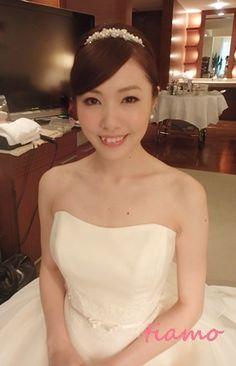 美人花嫁さまの洋装&和装スタイル♡素敵な一日 の画像 大人可愛いブライダルヘアメイク『tiamo』の結婚カタログ