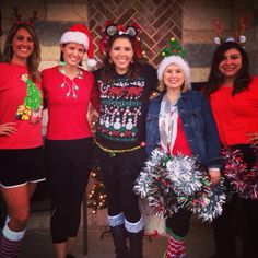 December 6th, 2014 - I'm passionate about weather, but also about running!  Had a great time running with Team KEYE in the Trail of Lights Fun Run!  My fashion statement?  A strand of Battery-Operated Green Christmas-Tree Shaped Christmas lights!  Just $1 at Dollar Tree!