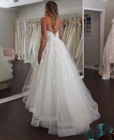 Wedding Dress Shopping at Malindy Elene in Tampa, FL (Anne Barge Blue Willow 'Anya') Wedding Dress Shopping, Wedding Dresses, Anne Barge, Wedding Day, Lace, Fashion, Bride Dresses, Pi Day Wedding, Moda