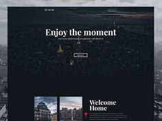 One Page website by Jan Wolinger