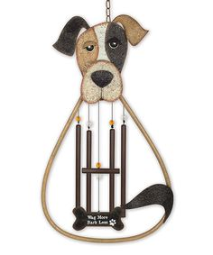 Another great find on #zulily! Dog Wind Chime #zulilyfinds