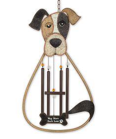 Look at this #zulilyfind! Dog Wind Chime #zulilyfinds