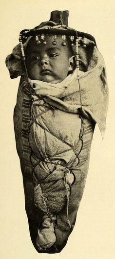 Vintage Halftone Print of a Takima Baby