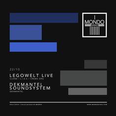 Tonight Legowelt @DWolfers live & @dkmntl Soundsystem at #MondoDisko