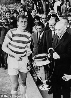 Celtic legend Tommy Gemmell has died aged 73 after a long illness. Gemmell represented the Hoops for 10 years from 1961 and scored in the famous European Cup final win over Inter Milan. Celtic Fc, European Cup, World Football, Ac Milan, Uefa Champions League, Club, Liverpool Fc, Best Games, Lisbon