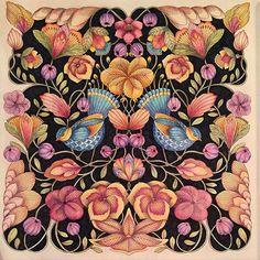 Tropical Wonderland | Inspirational Coloring Pages | inspiração #coloringbooks #livrosdecolorir #jardimsecreto #secretgarden #florestaencantada #enchantedforest #reinoanimal #animalkingdom #adultcoloring #johannabasford #milliemarotta