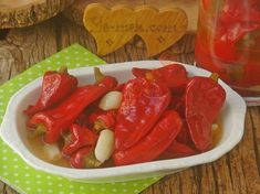 Kışlık Konserve Menemen Tarifi, Nasıl Yapılır? (Resimli) | Yemek Tarifleri Pickles, Salsa, Stuffed Peppers, Vegetables, Kitchen, Food, Recipies, Cooking, Stuffed Pepper