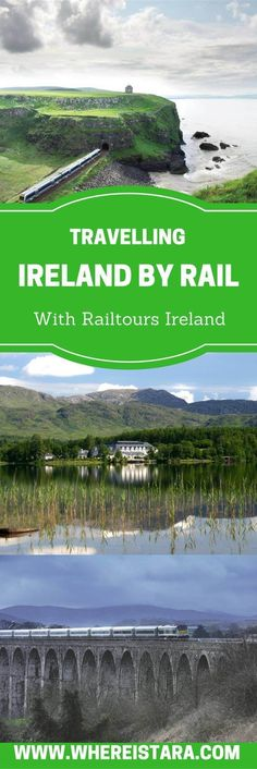 Ever thought about travelling Ireland by rail? I took a trip up to Northern Ireland and Donegal and Sligo with Railtours Ireland. We visited Belfast, the Titanic Centre, the Peace Wall and more. #irelandtravel