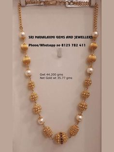 Pearl Necklace Designs, Gold Earrings Designs, Gold Jewellery Design, Gold Haram Designs, Diamond Jewellery, Gold Wedding Jewelry, Gold Jewelry Simple, Gold Necklace Simple, Bridal Jewelry