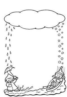 Gotas De Agua De Nieve Dibujos Para Decorar