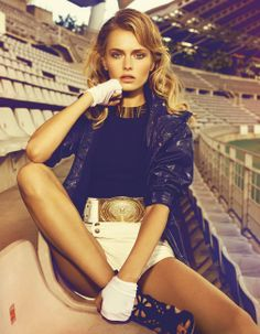 Stadium Goddess Madame Figaro July 2012 by Nelson Simoneau