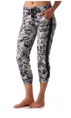 5c698a14c0275 Track Pant-Marble with Charcoal Stripe| PRISMSPORT | Fashionable Yoga Tops,  Pants &
