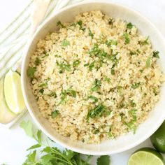This fluffy Cilantro Lime Quinoa is simmered in chicken broth with caramelized onion and garlic, then  it's tossed with a wee bit of fresh lime juice and chopped cilantro, making this a delicious side kick to serve with grilled veggies, chicken, fish or your favorite Mexican dish. I don't know about you but lately I've …