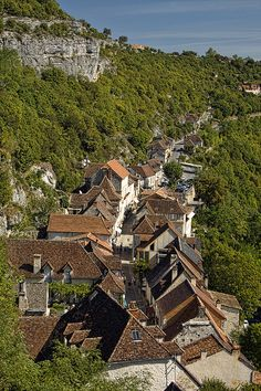 Rocamadour, Dordogne, France Best Cassoulet I ever had was from here. #travel France #traveling to France #Rocamadour