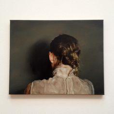 Tableau The Ear par Michael Borremans.