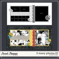scrapbooking page multiple pictures - Google Search