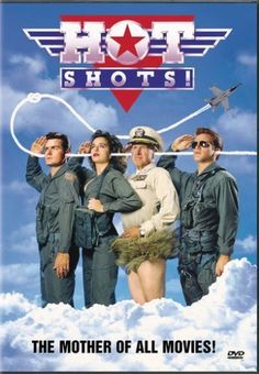 "Directed by Jim Abrahams.  With Charlie Sheen, Cary Elwes, Valeria Golino, Lloyd Bridges. Parody of ""Top Gun"" in which a talented but unstable fighter pilot must overcome the ghosts of his father and save a mission sabotaged by greedy weapons manufacturers."