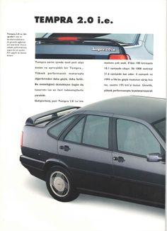 1993 Fiat Tempra 2.0 i.e. Turkish Catalog Page 2/4 - 1993 Fiat Tempra 2.0 i.e. Türkçe Katalog Sayfa 2/4