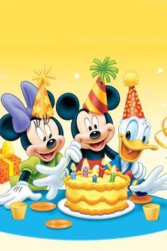 .happy birthday Mickey
