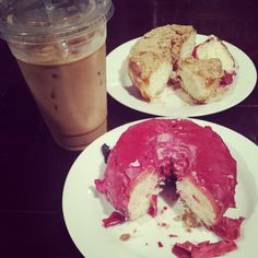 Cafe Forte in Brooklyn: Have a Sweet Weekend. Who wants to make me a Hibiscus doughnut?
