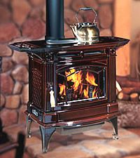 Regency Hampton H300 wood burning stove from www.WoodenSun.com . We sell #woodstoves by Vermont Castings, Regency, Pacific Energy, Blaze King & HWAM. #fireplaces #woodburningstoves